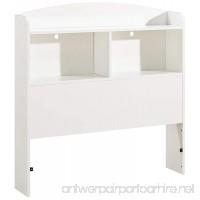 South Shore Logik Bookcase Headboard with Storage Twin 39-inch White - B001JJBGIQ