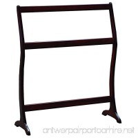 Allamishfurniture Amish Modern Quilt Rack Waterfall Floor CHERRY UNASSEMBLED - B07FY3T38L